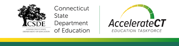 AccelerateCT Banner with CSDE logo