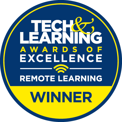 Tech & Learning Best Remote Learning Tools Award