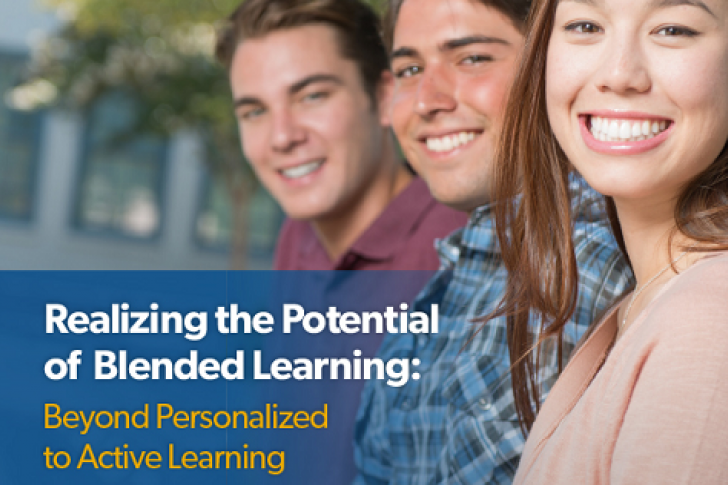 Realizing the Potential of Blended Learning: Active Learning