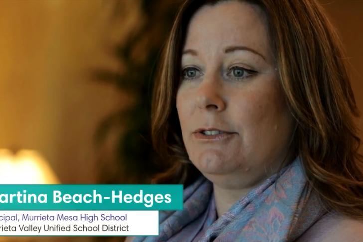 Murrieta Mesa High School Testimonial