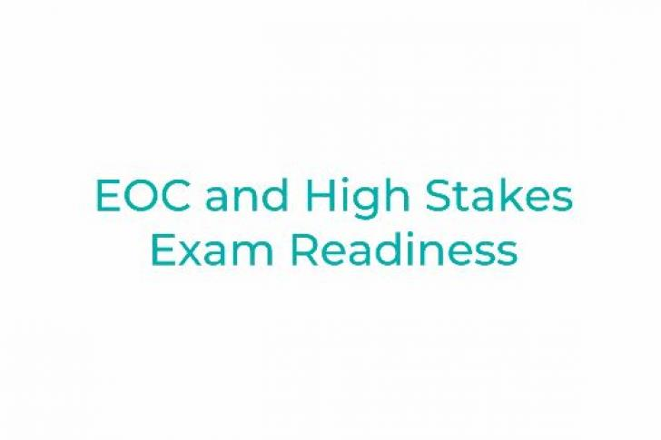 EOC and High-Stakes Exam Readiness in Texas Districts