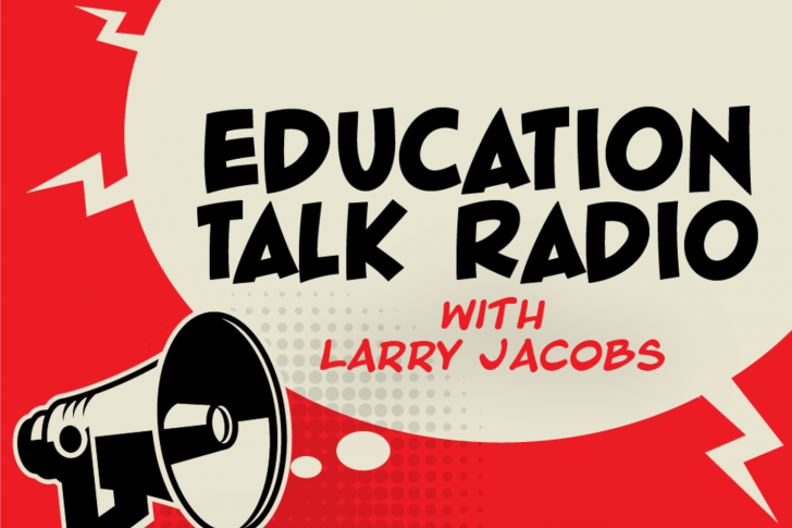 Education Talk Radio Graphic